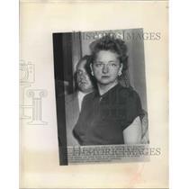 1948 Press Photo Elizabeth Bentley testified on espionage at Senate Committee