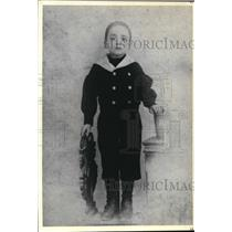 1900 Press Photo 12- year old Domenico Troisi who came to America at the age 13