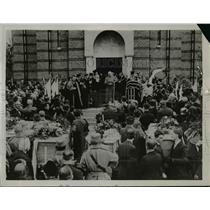 1926 Press Photo Belgrade solemnly buried Voyvoda Putnik and 7 Other Great Men