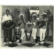 1967 Press Photo Jamaican Calypso Band, The Diggers of Miranda Hill performs