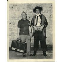 1976 Press Photo Jose Duran with Trainer Rocco Battaglia - nos09316