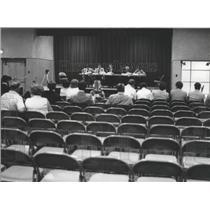 1978 Press Photo Water quality hearing in Jefferson County, Alabama - abna11525
