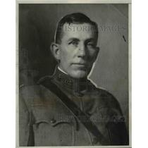 1929 Press Photo Col Arthur Conger Former Chief of Information Division Section