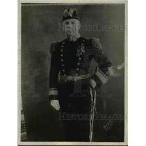 1918 Press Photo Admiral Fullan Chief of Pacific Reserve Fleet - nem49224