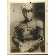 1927 Press Photo Colonel Beatta attache at Italian Legation in Warsaw