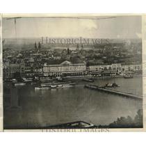 1929 Press Photo Hotel Riesen Furstenhof where American Army had its spy trap