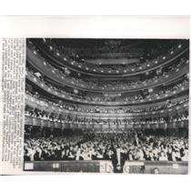 1883 Press Photo Opera Goers Await For Opening Performance at Metropolitan House