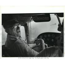 1981 Press Photo Glenn E. Messer, Aviator - abna16001