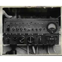1942 Press Photo Switchboard on a Zero Fighter Japanese Aircops plane