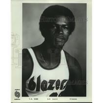 Press Photo Portland Trail Blazers basketball player T.R. Dunn - sas05789