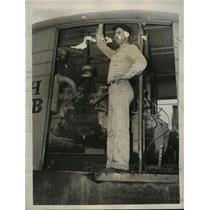 1949 Press Photo Walker County, Alabama Miners, Presbitt Coal Mine - abna17045