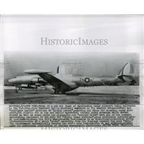 1955 Press Photo Lockheed V-3 radar aircraft delivered to United States Navy