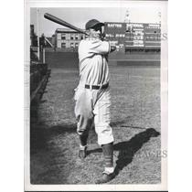 1938 Press Photo Member of the Chicago Cubs, Carl Reynold, outfielder.