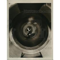 1940 Press Photo 155mm Howitzer Barrel at Rock Island Illinois - nem53435