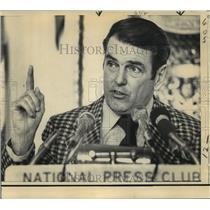 1973 Press Photo Washington Redskins - George Allen, Head Coach - nos01762
