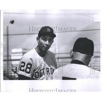 1966 Press Photo Orlando Pena Detroit Tigers - RRQ05889
