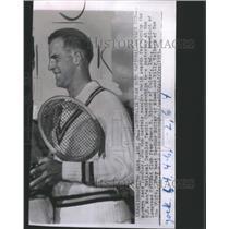 1953 Press Photo Rex Hartwig Australian Tennis Player - RRQ05221