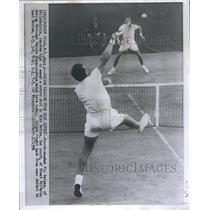 1956 Press Photo Vic Seixas tennis player Philadelphia - RRQ05299