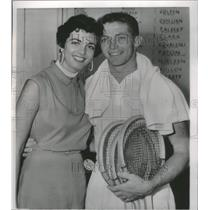 1953 Press Photo Tony Trabert Tennis Player - RRQ05353