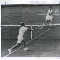 1956 Press Photo Tennis Star Lew Hoad - RRQ05739
