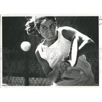 1987 Press Photo Heckman Denver City Open Tennis - RRQ05819