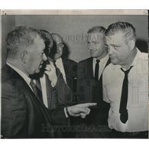1968 Press Photo Big Ten Conference Coaches Conference - RRQ08715