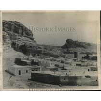 1926 Press Photo crumbling ruins of Almeria Cave dwellings in Spain - lrz00942