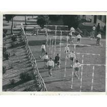 1963 Press Photo Italian Football Association's new school for soccer players.