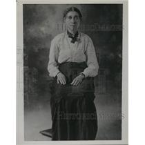 1936 Press Photo An excellent study of Victoria Harp Barrow - nem55448