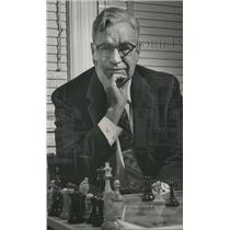 1958 Press Photo William Nicholl Woodbury, ex-Southern Chess Champion