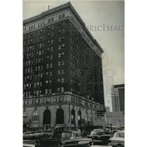 1967 Press Photo Tutwiler Hotel on 5th Avenue in Birmingham, Alabama - abna21321