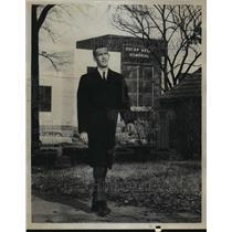 1959 Press Photo William D. Tynes IV at Oscar Wells Memorial - abna23731