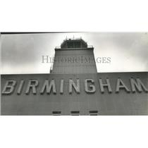1964 Press Photo Birmingham, Alabama Airports: Municipal Control Tower