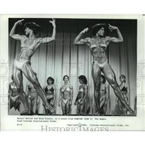 1985 Press Photo Rachel McLish, Miss France in Pumping Iron II The Women