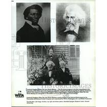 1994 Press Photo Frederick Douglass profiled on When the Lion Wrote History.