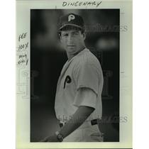 1989 Press Photo Pettus High baseball coach Bobby Dingenary - sas06394