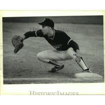 1988 Press Photo Churchill High baseball player Brent Monroe - sas07822