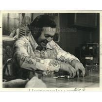 "1976 Press Photo ""NBC Reports"" on Plainfield, Connecticut, legalizing gambling"