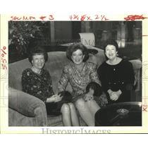 Press Photo Sylvia Goldberg, Judith Mish & Toby Medler at Hadassah Party