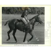 1989 Press Photo Major Ferguson, Captain of the British International Polo Team