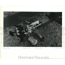 1990 Press Photo Corie Field in Verret, St. Bernard Air Club Full Scale Air Show
