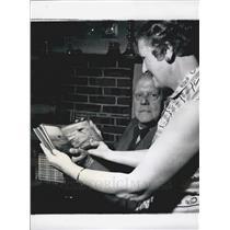 Press Photo Major Francis Maunde-Thompson & Wife - KSB11717
