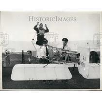 1955 Press Photo M Jean Salis, Ferryfield - KSB52183