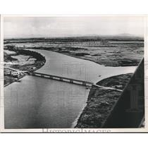 1954 Press Photo Bridge On The River Phong Ben Nha On The Indochina Boundary