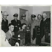 1943 Press Photo Aviation psycho-motor test at San Antonio Aviation Cadet Center