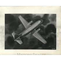 1945 Press Photo An artist sketch of the Martin Transport plane - nem59147