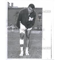 1959 Press Photo Tom Robinson Univ Michigan Track - RRQ18139