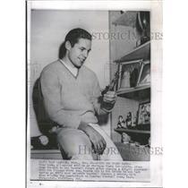 1959 Press Photo Dean Look Chicago White Sox Baseball - RRQ18561