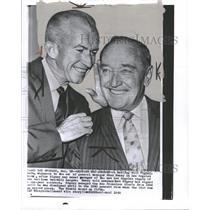 1960 Press Photo Los Angeles Angels Manager Bill Rigney - RRQ19805