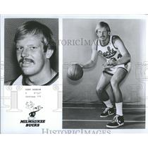1971 Press Photo Kent Benson Milwaukee Bucks basketball - RRQ20335